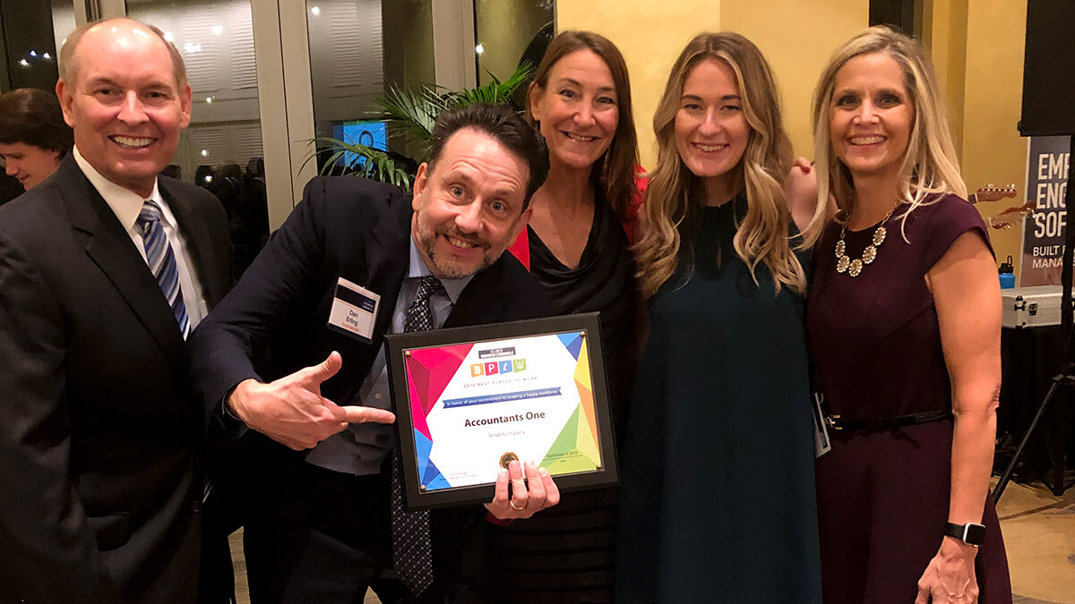 Best places to work award presented to Accountants One